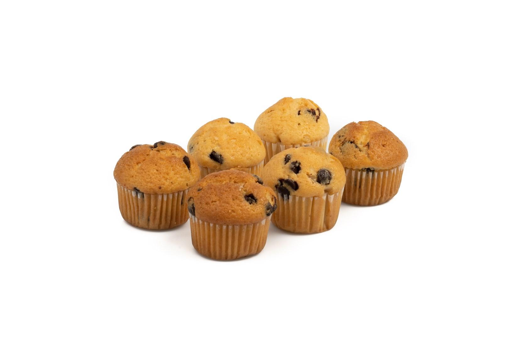 Productafbeelding Mini Muffins vanillesmaak met chocoladebrokjes