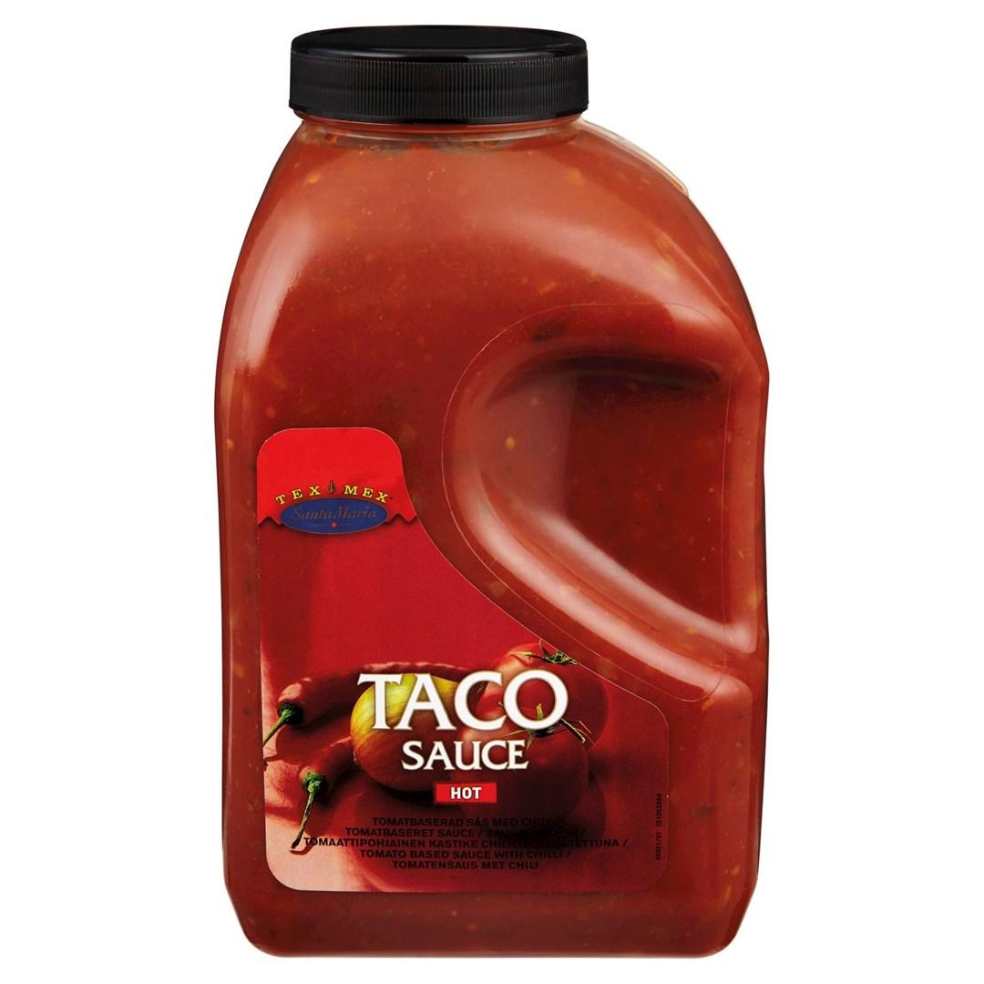 Productafbeelding Santa Maria 3700G Taco Sauce Hot