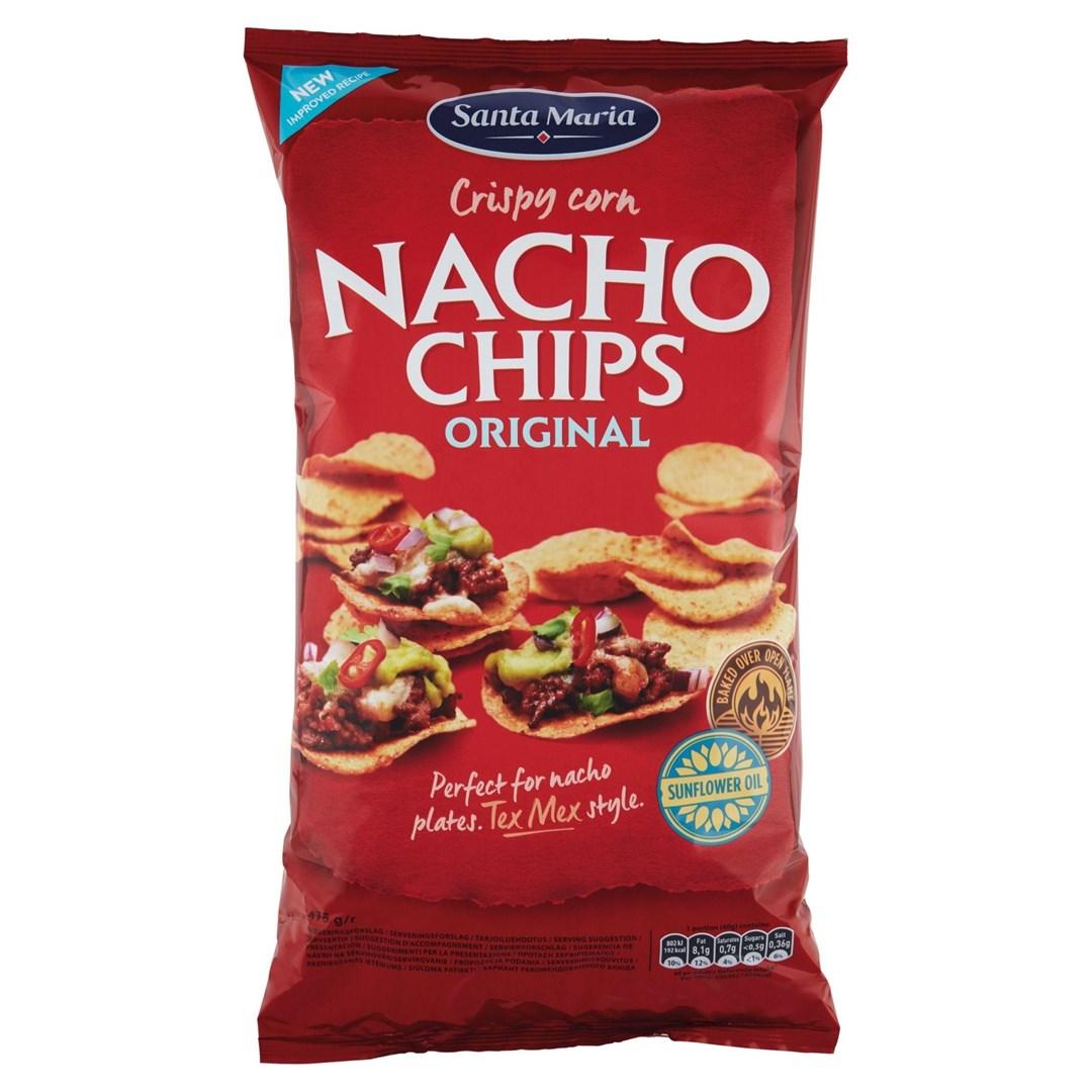 Productafbeelding Santa Maria 475G Nacho Chips