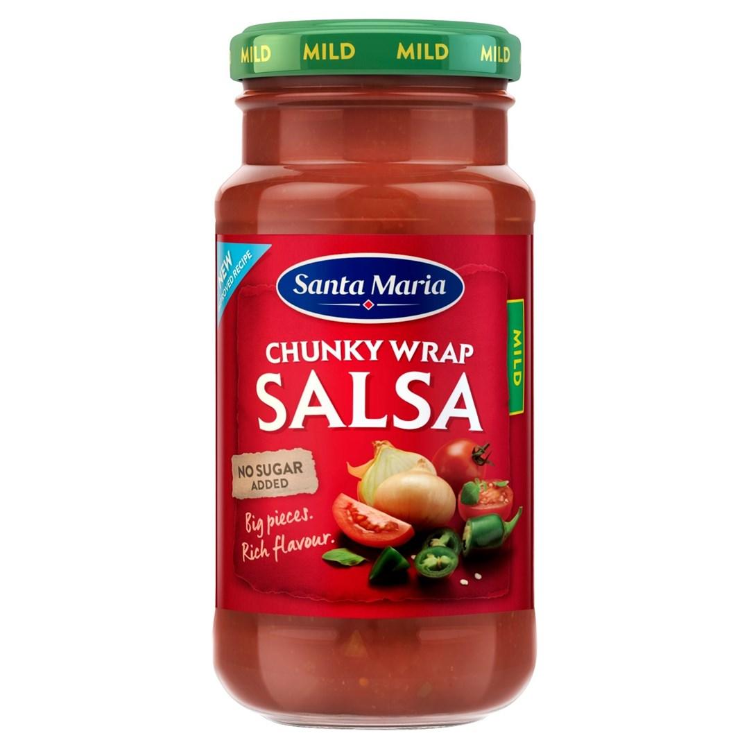 Productafbeelding Santa Maria 230G Chunky Wrap Salsa Mild