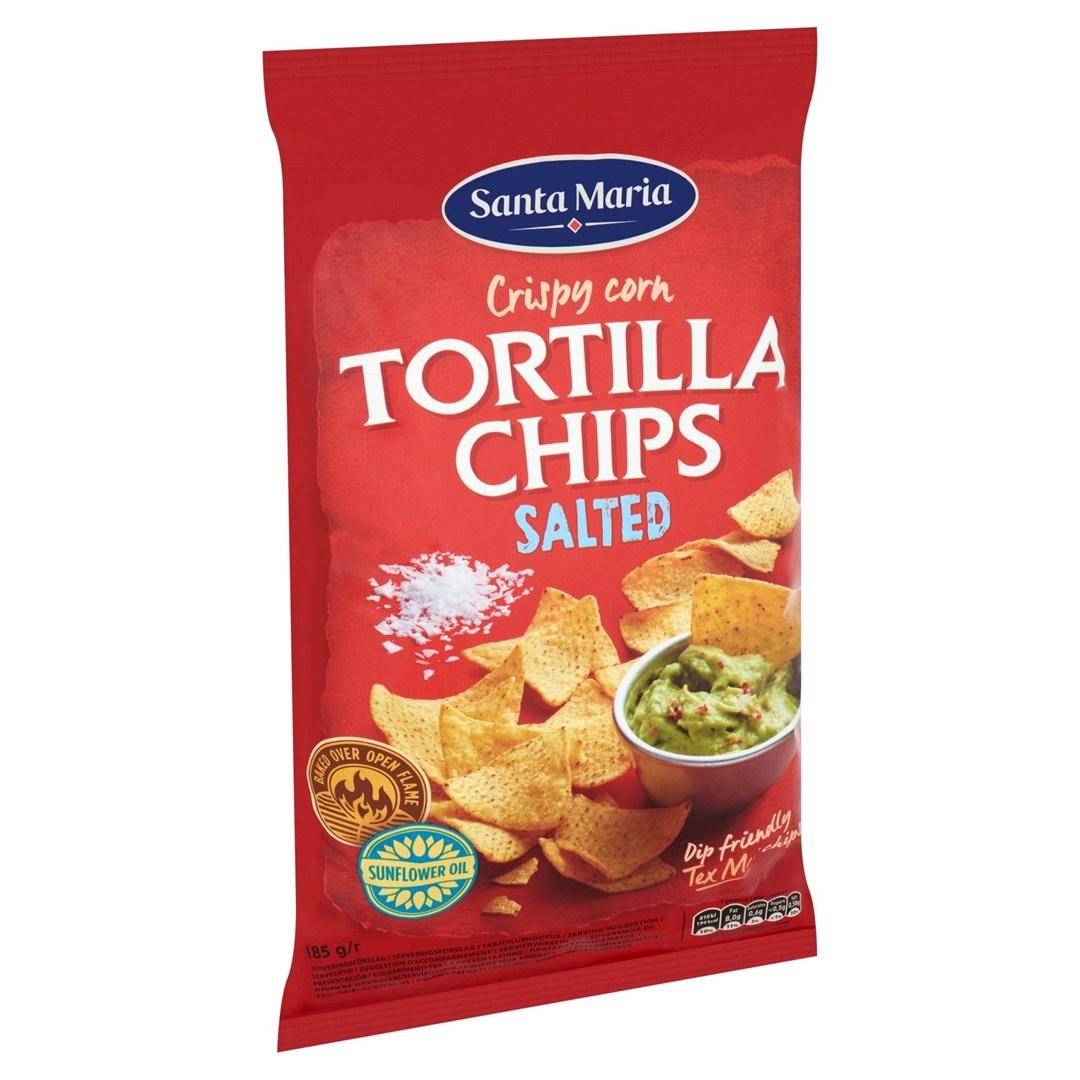 Productafbeelding Santa Maria 185G Tortilla Chips Salted