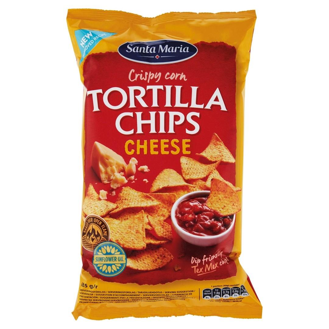 Productafbeelding Santa Maria 185G Tortilla Chips Cheese