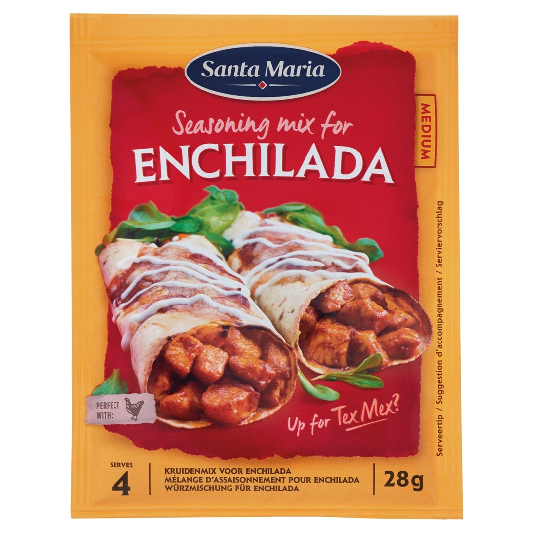 Productafbeelding Santa Maria 28G Enchilada Seasoning Mix