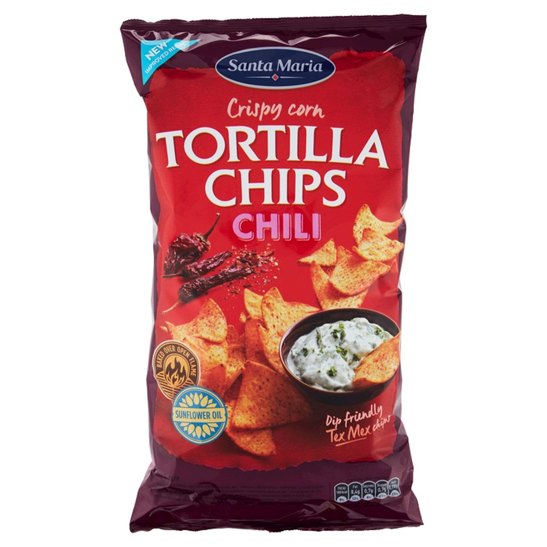 Productafbeelding Santa Maria 475G Tortilla Chips Chili