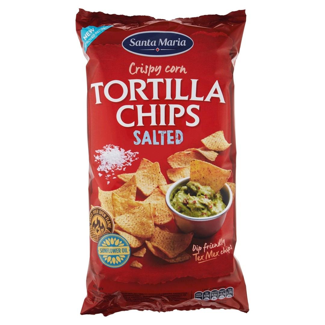 Productafbeelding Santa Maria 475G Tortilla Chips Salted
