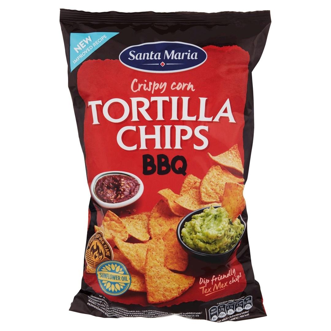 Productafbeelding Santa Maria 475G Tortilla Chips Bbq