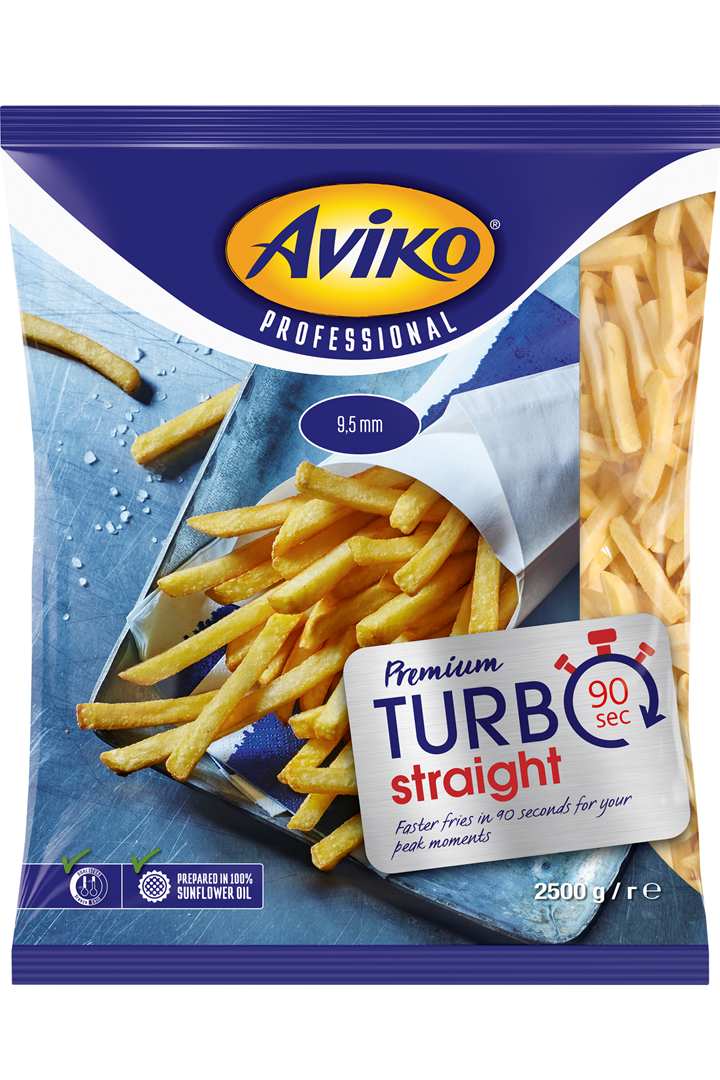 Productafbeelding Aviko Premium 9,5 mm Turbo 2500g