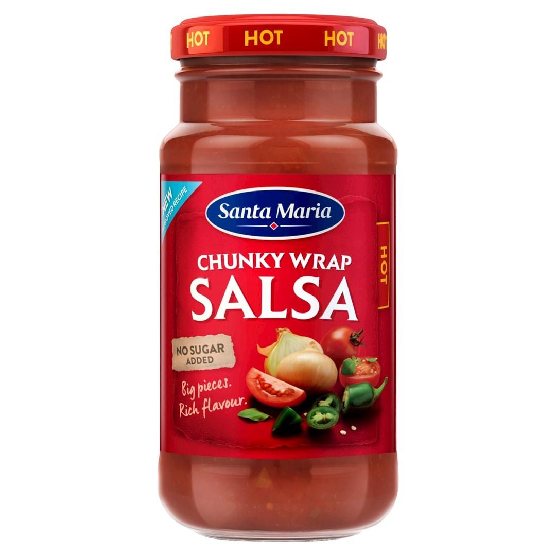 Productafbeelding Santa Maria 230G Chunky Salsa Hot