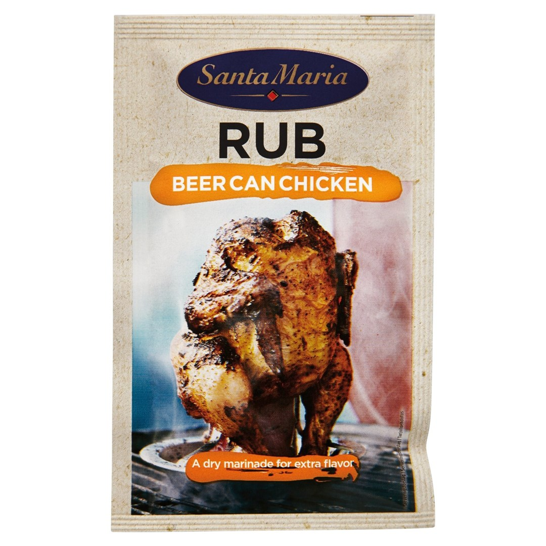 Productafbeelding Santa Maria 30G Bbq Rub Beer Can Chicken