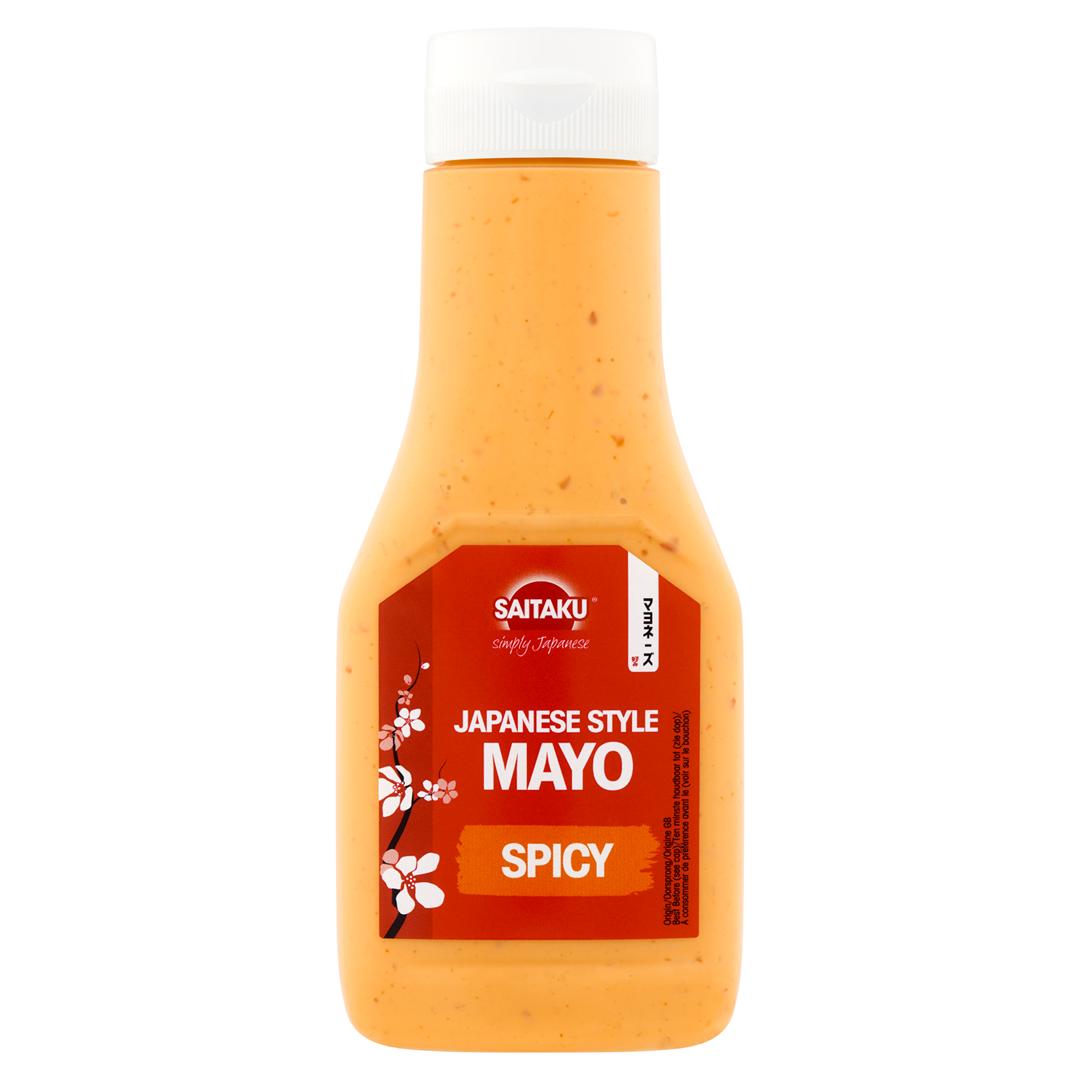 Productafbeelding Saitaku SAUS Japanese Style Mayo Spicy 160 g Fles