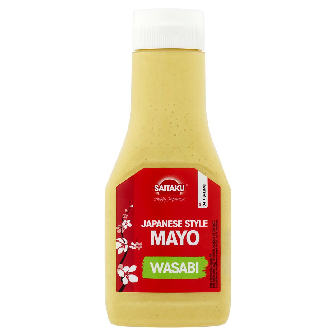 Productafbeelding Saitaku SAUS Japanese Style Mayo Wasabi 160 g Fles