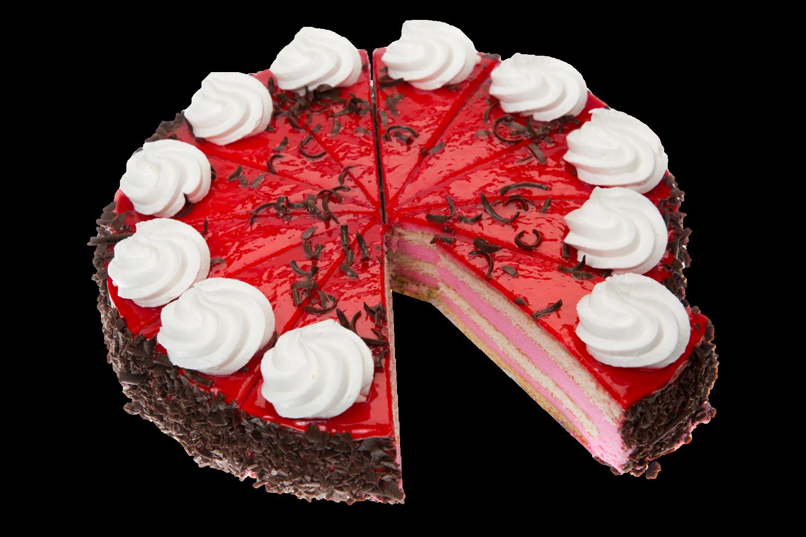 Productafbeelding Aardbeien kwarktaart 12 punten 1340 gram