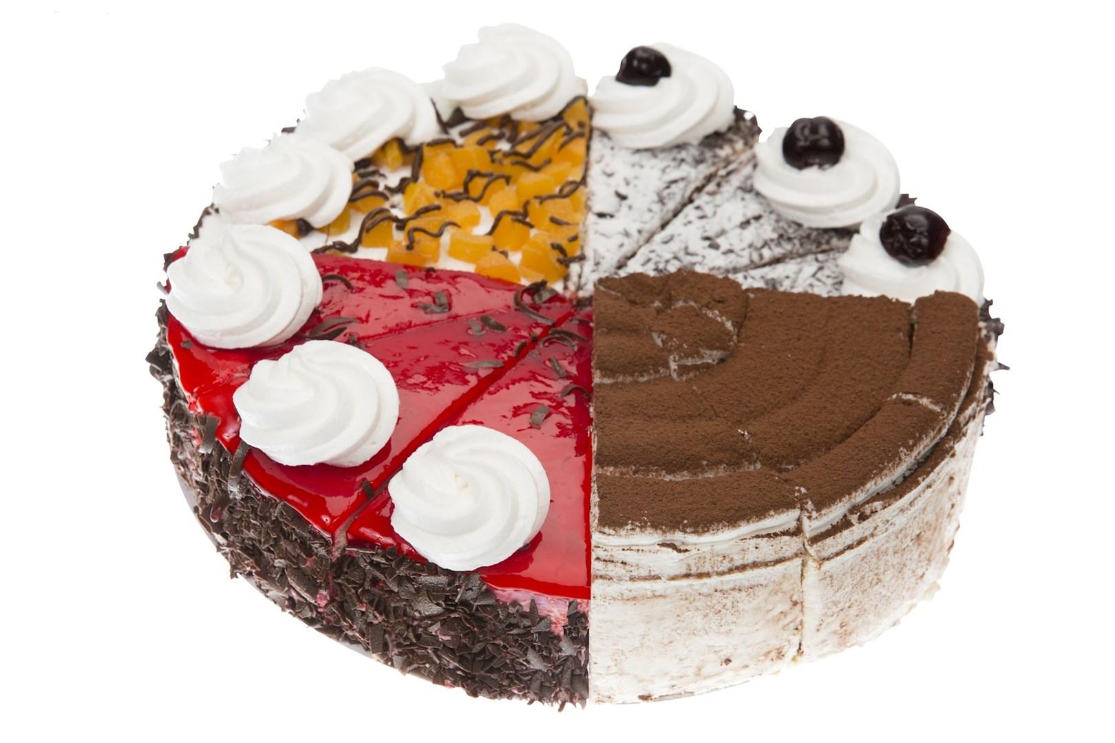 Productafbeelding Assorti taart Klassiek 12 punten 1412 gram