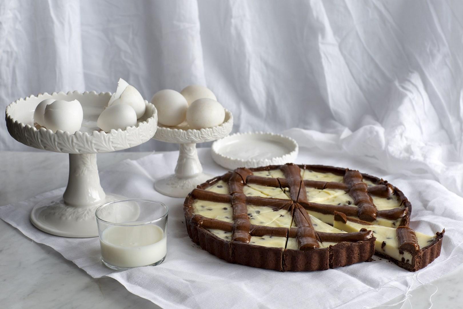 Productafbeelding Martinucci Tart Ricotta e Cioccolato 1300 g