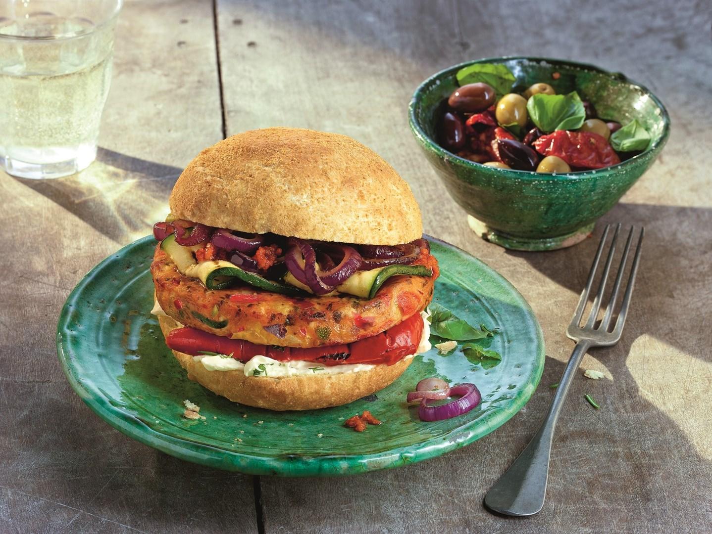 Productafbeelding Mediterranean Veggie Burger