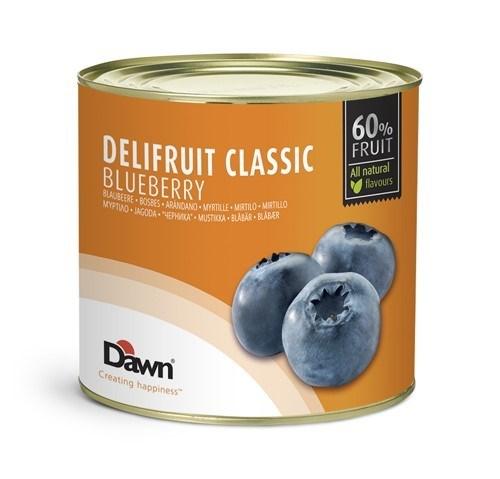 Productafbeelding Dawn Delifruit Classic Bosbes 2,7 kg blik