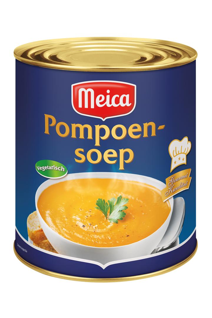 Productafbeelding Meica soep pompoen 3L blik