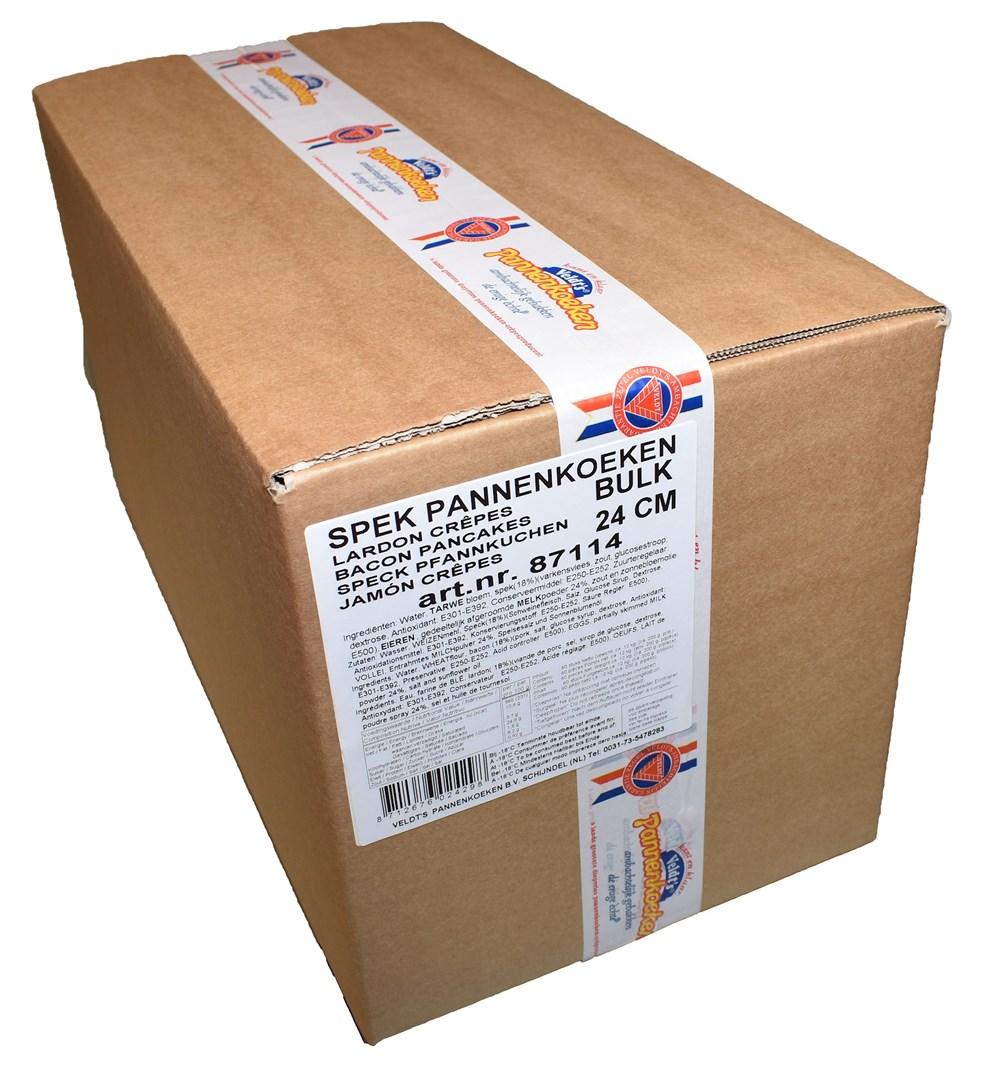 Productafbeelding Bulk Spek pannenkoek 24 cm 60 x 200 gr.