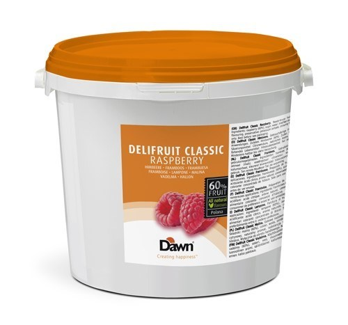 Productafbeelding Dawn Delifruit Classic Framboos 6 kg emmer