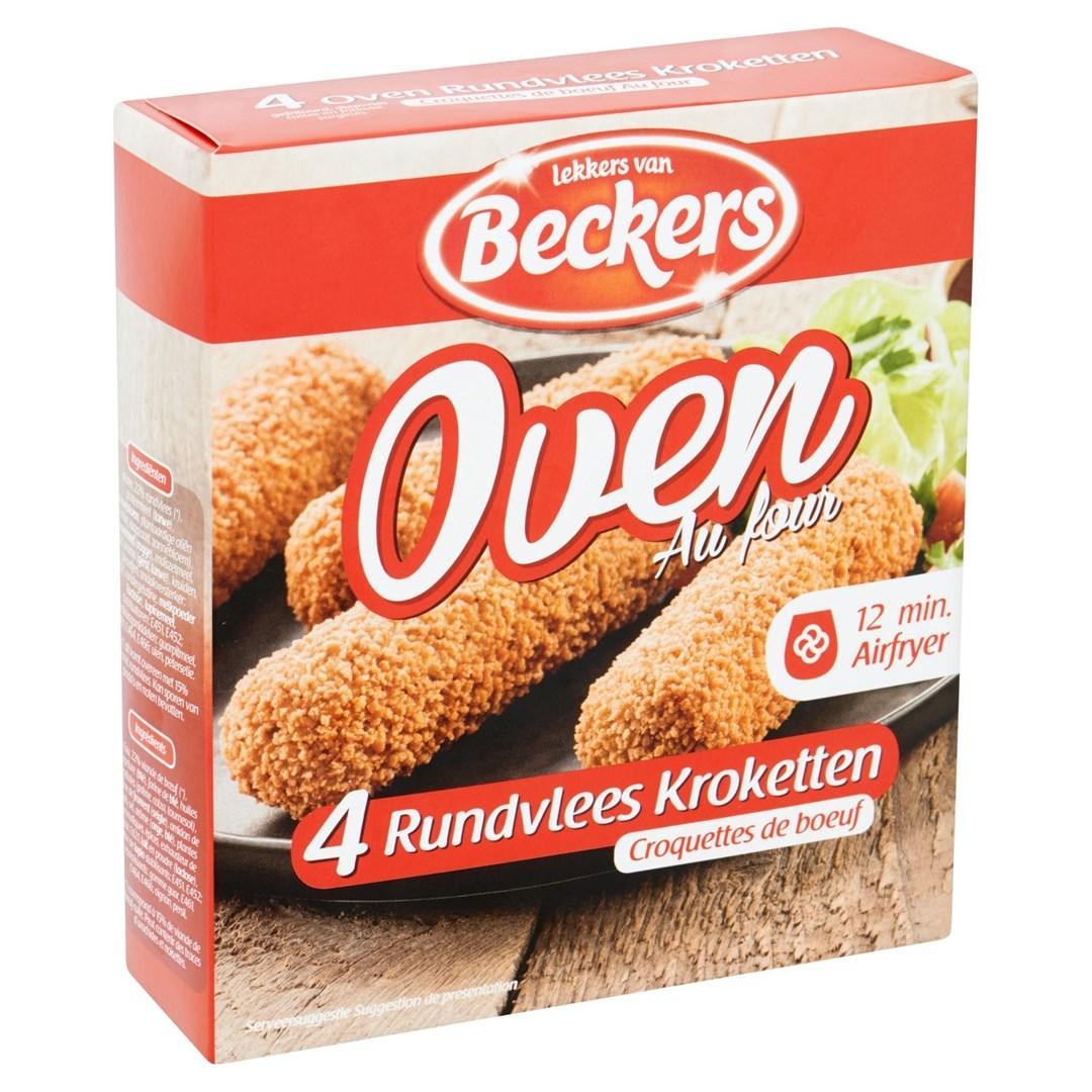 Productafbeelding Beckers oven kroket 4x80 gram