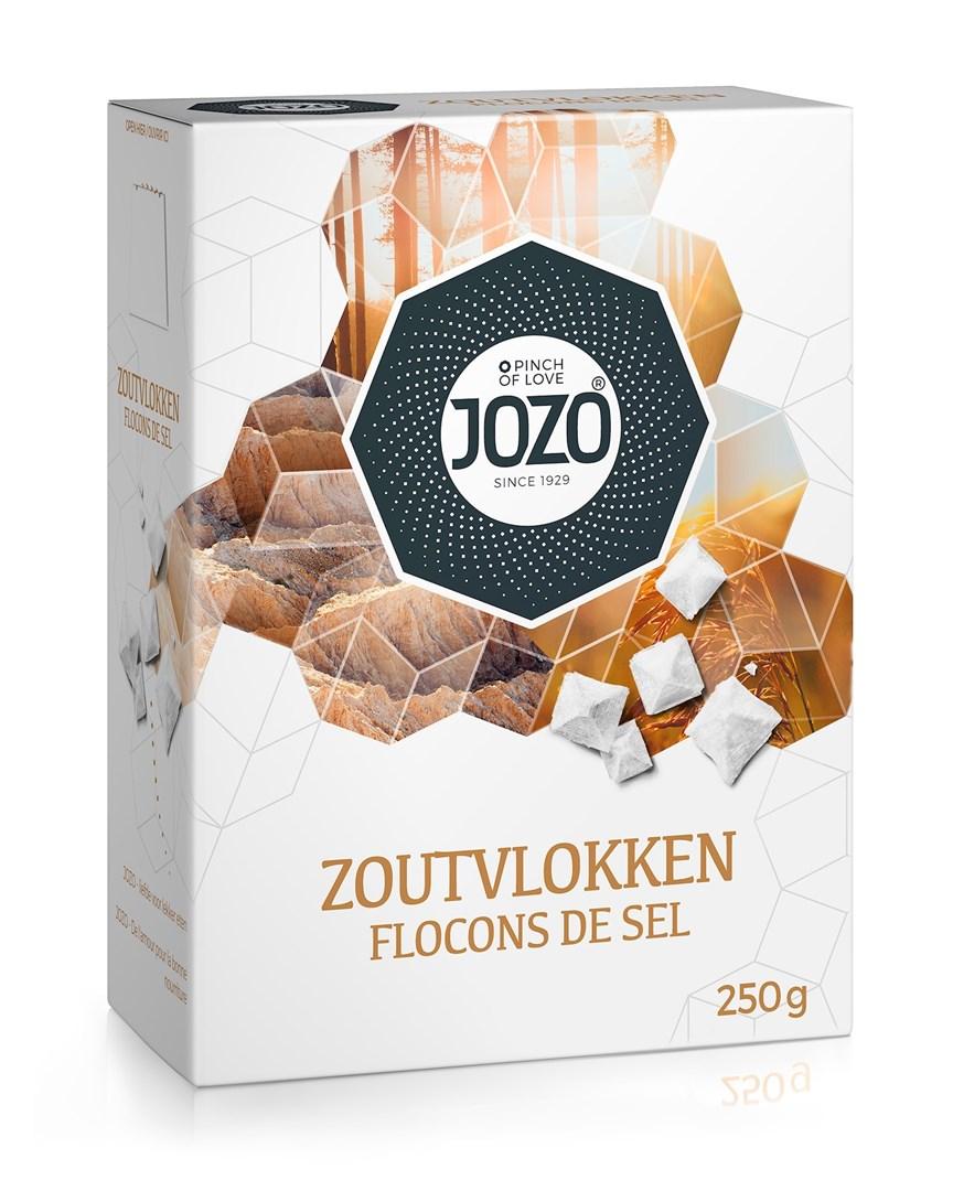 Productafbeelding JOZO Zoutvlokken 250 g Doos