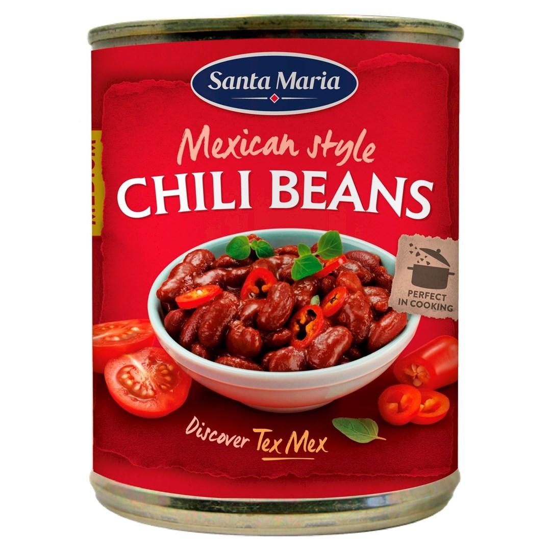 Productafbeelding Santa Maria 410G Mexican Chili Beans