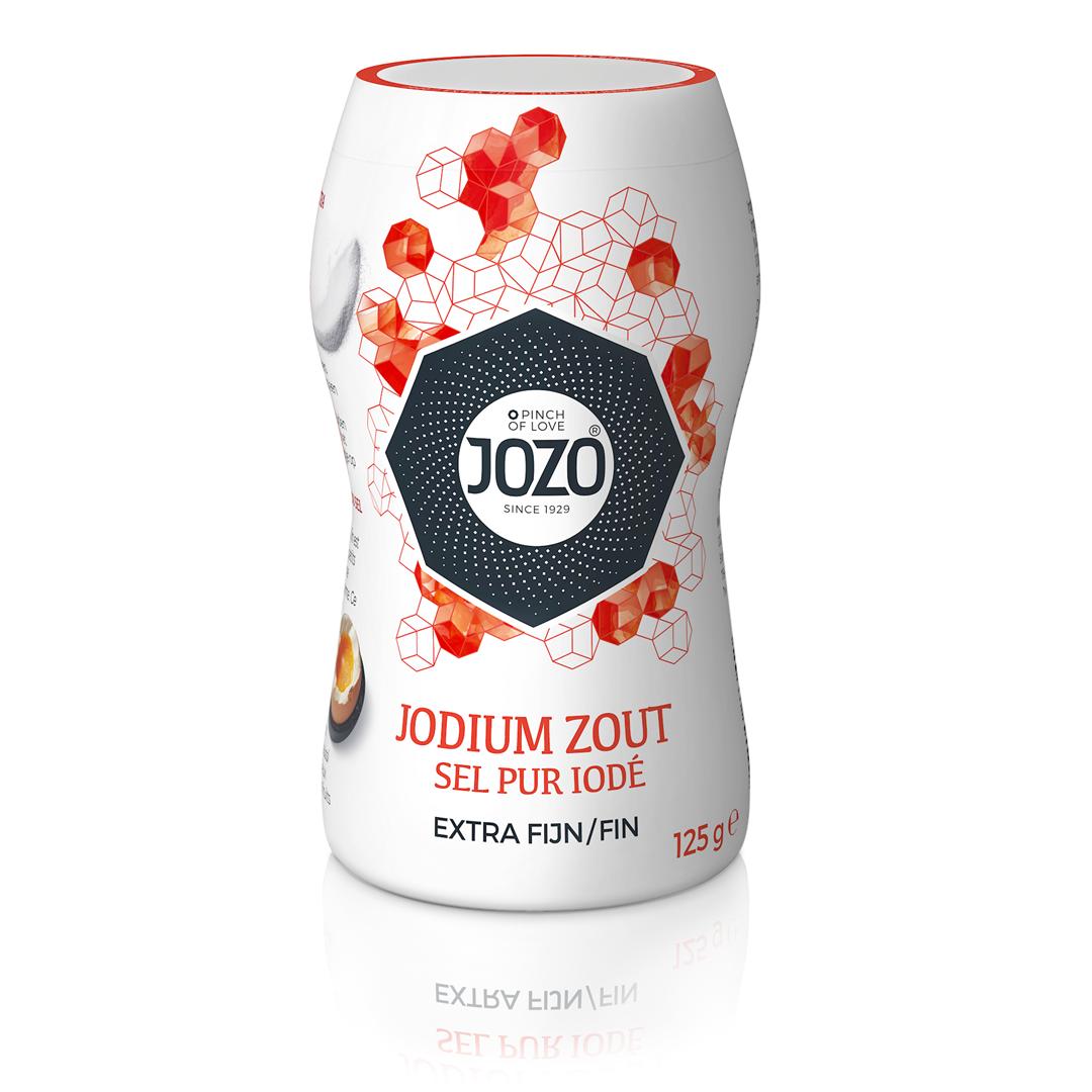 Productafbeelding JOZO Zout Jodium Extra Fijn 125 g Bus