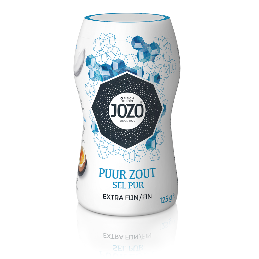 Productafbeelding JOZO Zout Puur Extra Fijn 125 g Bus