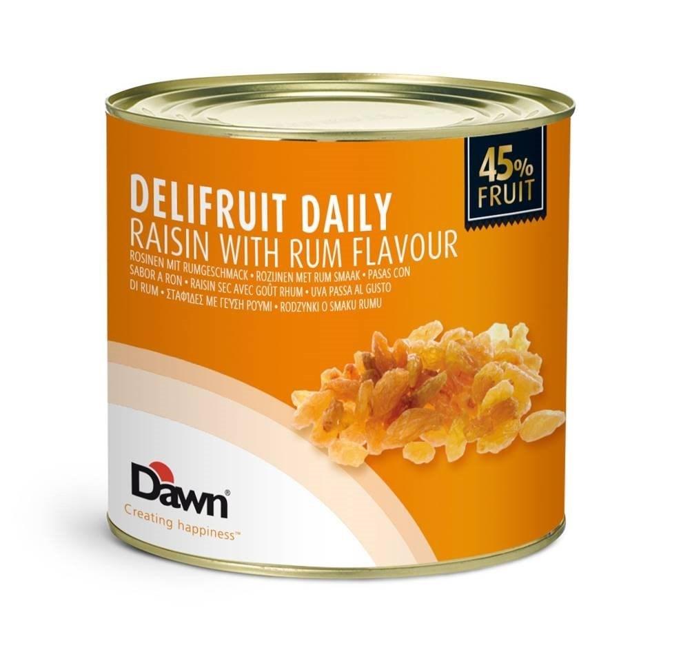Productafbeelding Dawn Delifruit Daily Rozijnen met Rum smaak 3,1 kg blik