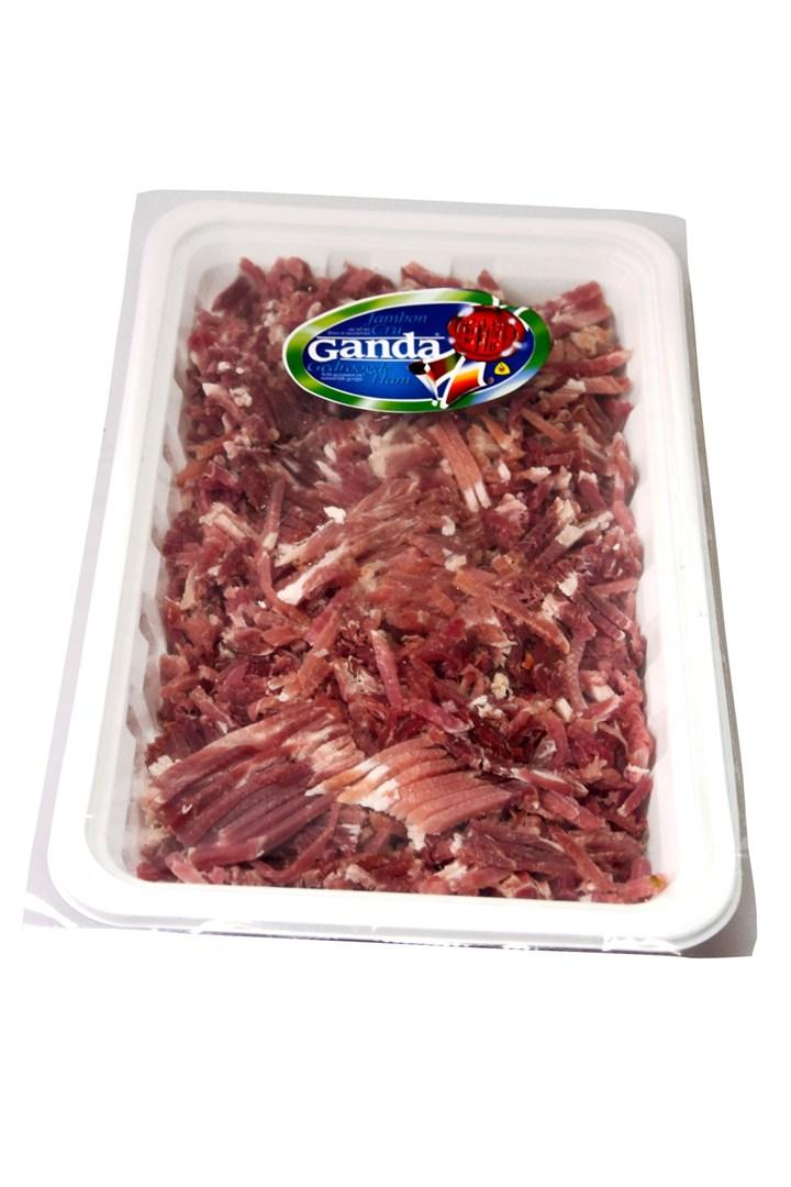 Productafbeelding Ganda ham snippers 500 gr