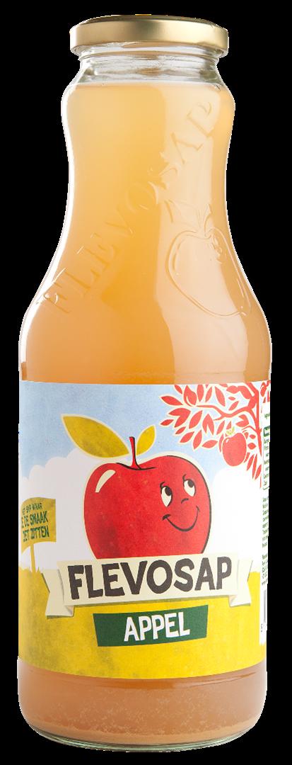Productafbeelding Flevosap Appel, fles 1L