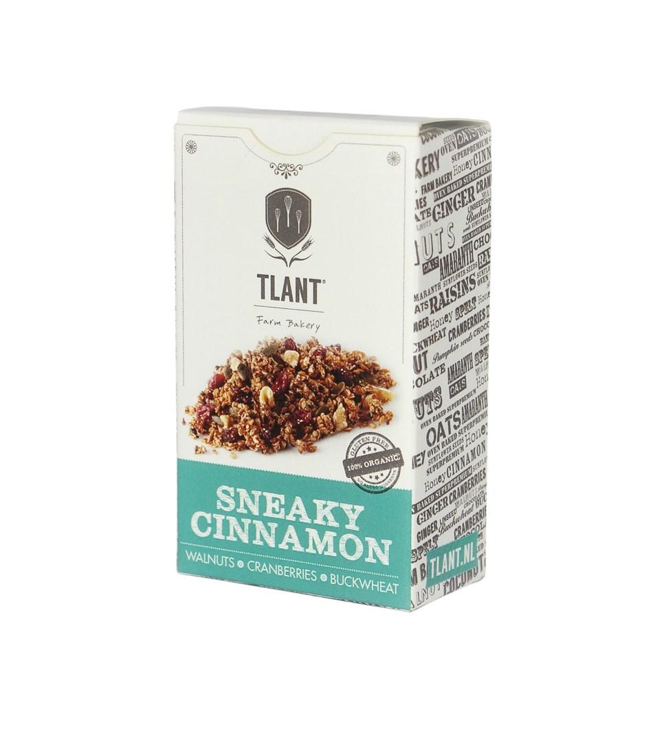 Productafbeelding TLANT Granola Sneaky Cinnamon 35G