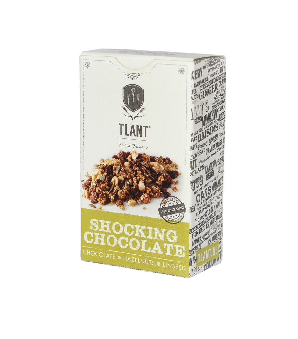 Productafbeelding TLANT Granola Shocking Chocolate 35G