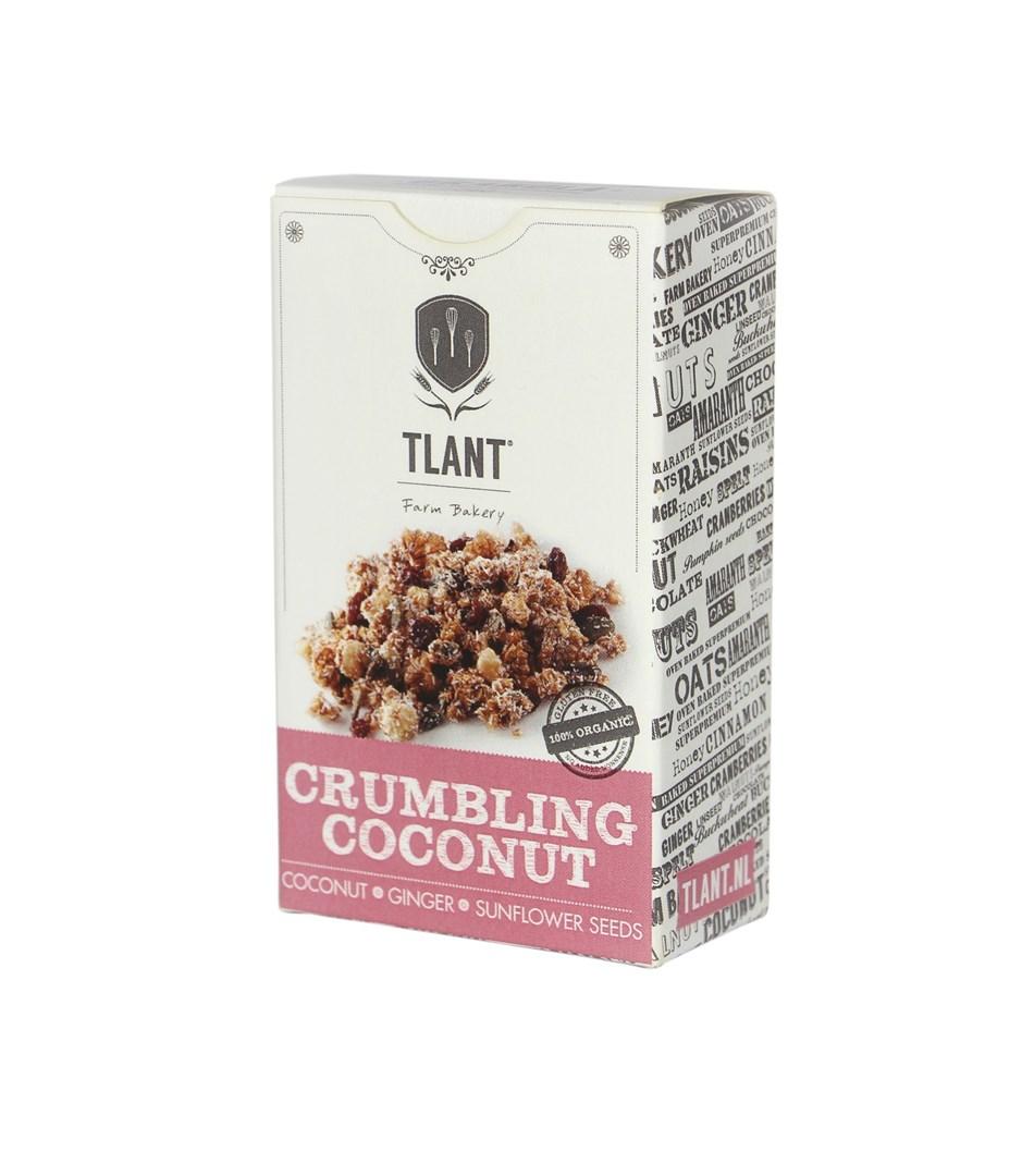 Productafbeelding TLANT Granola Crumbling Coconut 35G