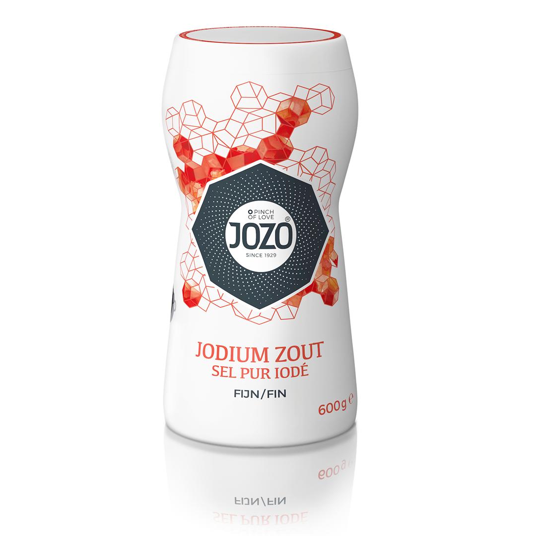 Productafbeelding JOZO Zout Jodium Fijn 600 g Bus