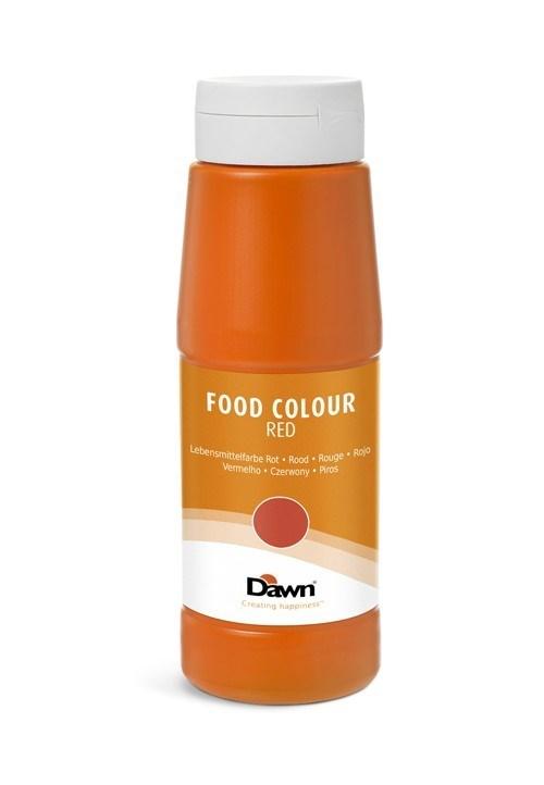 Productafbeelding Dawn levensmiddelenkleurstof rood  0,65 kg fles