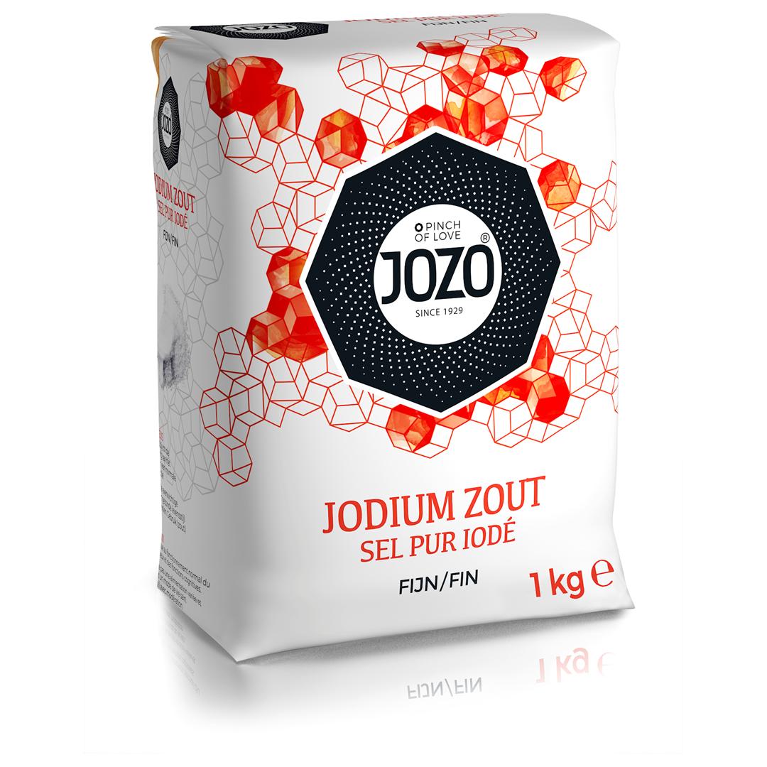 Productafbeelding JOZO Jodium Zout Fijn 1 kg Zak
