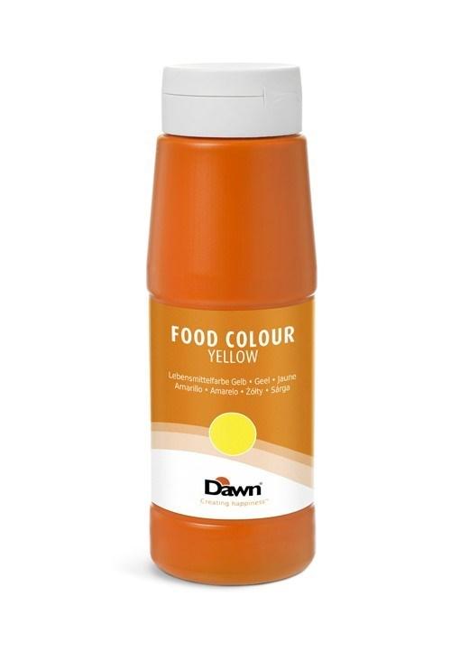 Productafbeelding Dawn levensmiddelenkleurstof geel 0,65 kg fles