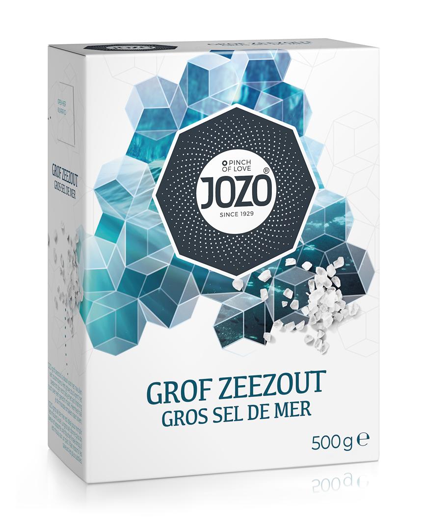 Productafbeelding JOZO Zeezout Grof 500 g Doos