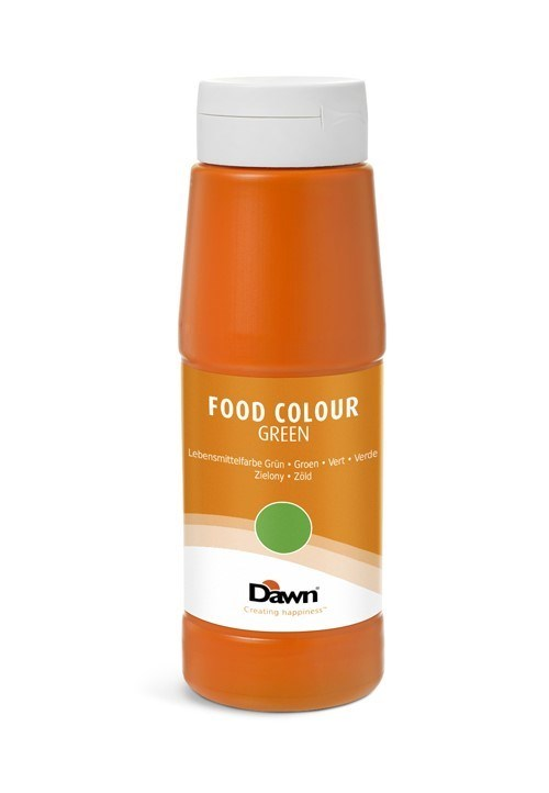 Productafbeelding Dawn levensmiddelenkleurstof groen 0,65 kg fles