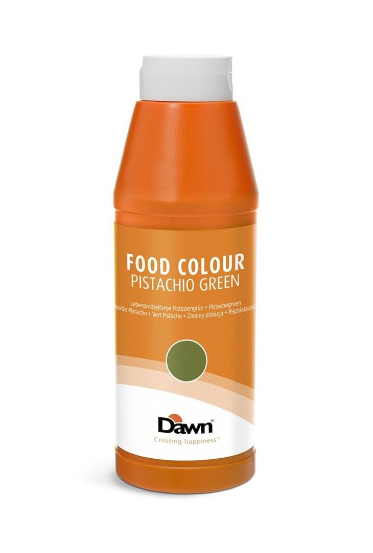 Productafbeelding Dawn levensmiddelenkleurstof groen, tint pistachegroen 1,0 kg fles