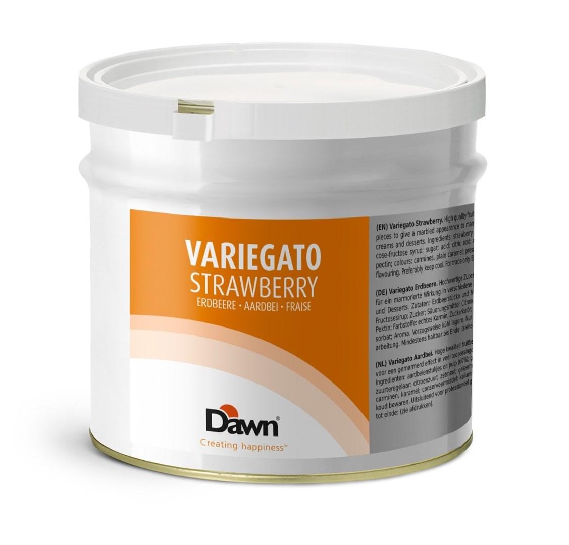Productafbeelding Dawn Variegato Aardbei 3,5 kg blik