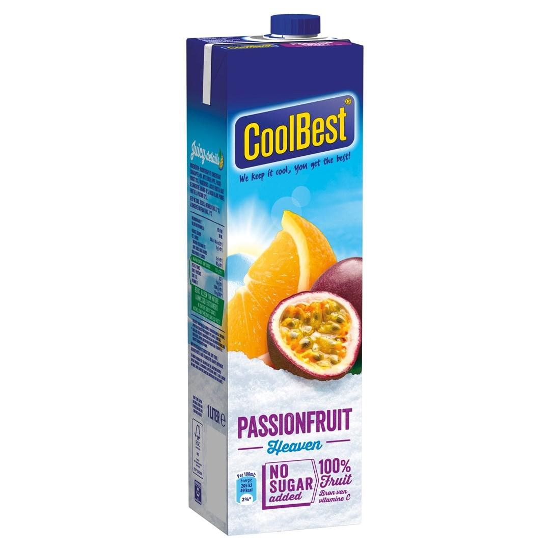 Productafbeelding Coolbest gekoeld sap passionfruit heaven 1 lt pak