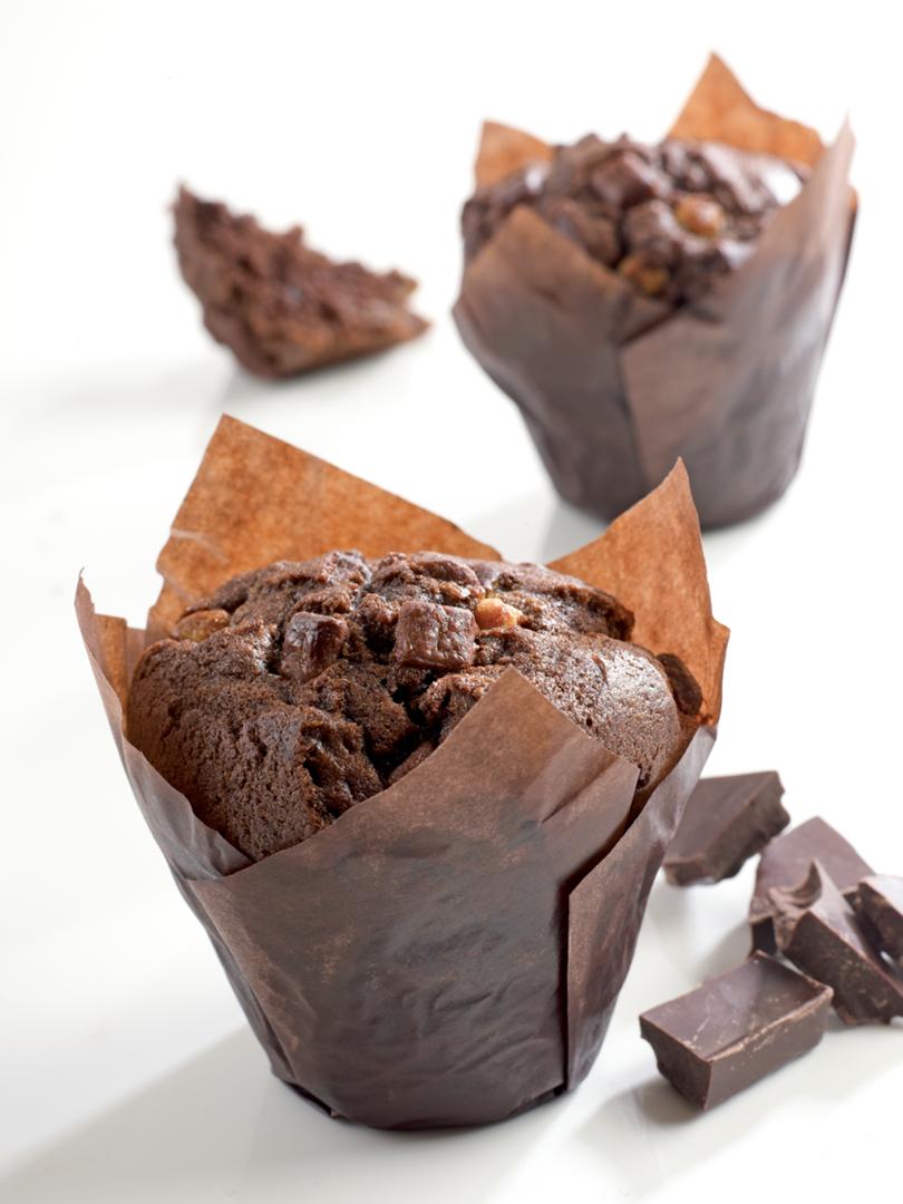Productafbeelding Dawn Triple Chocolate Tulip Muffin 24 stuks doos