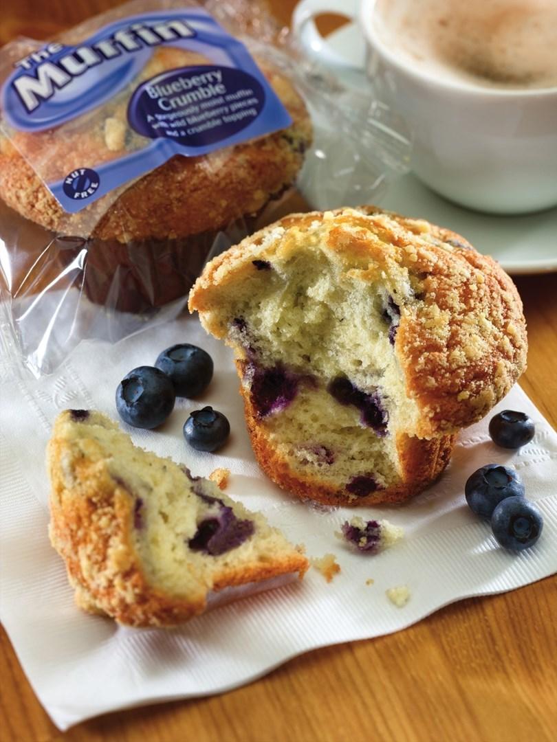Productafbeelding Dawn Blueberry Crumble Tulip Muffin 24 stuks doos