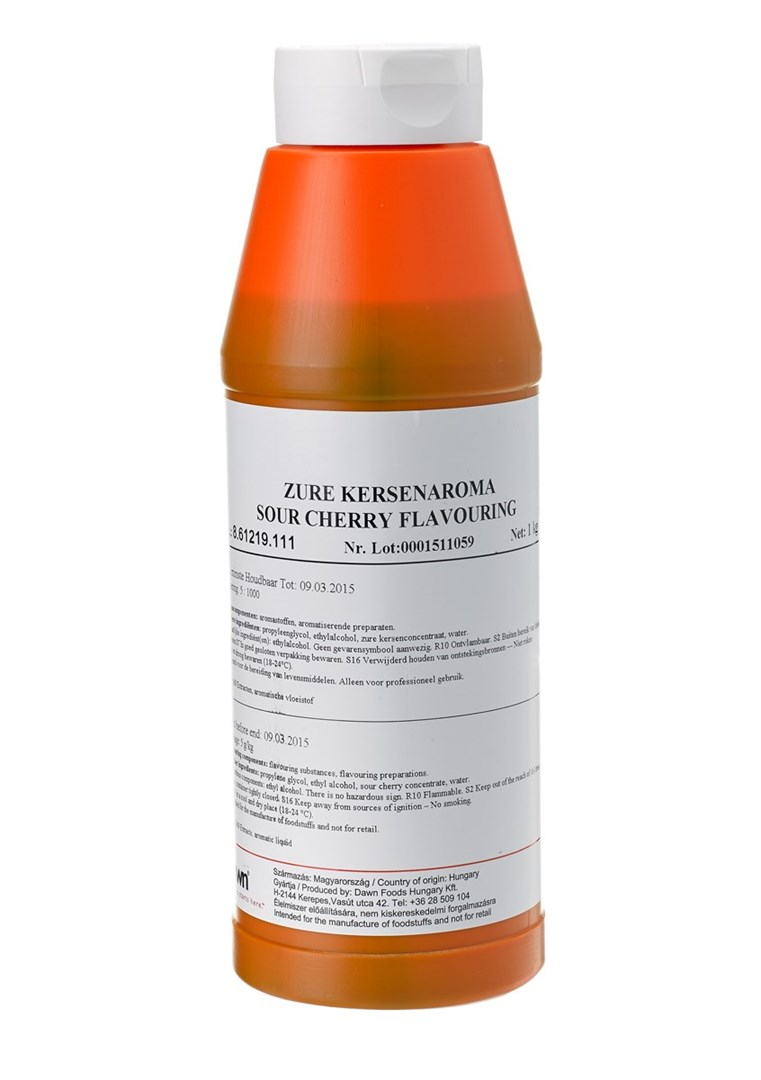 Productafbeelding Dawn Zure Kersenaroma 1 kg fles