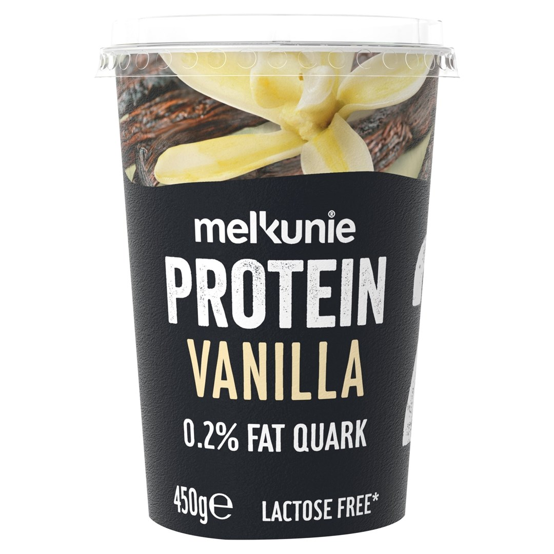 Productafbeelding Melkunie Protein Kwark Vanille 450gr