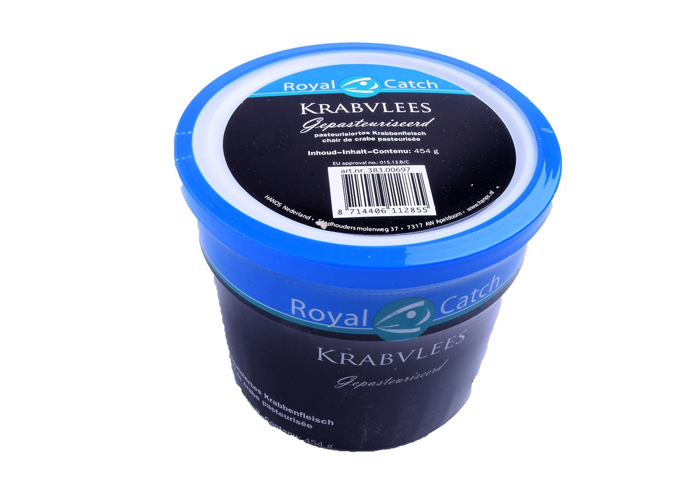 Productafbeelding KRABPOTENVLEES  454 GR.