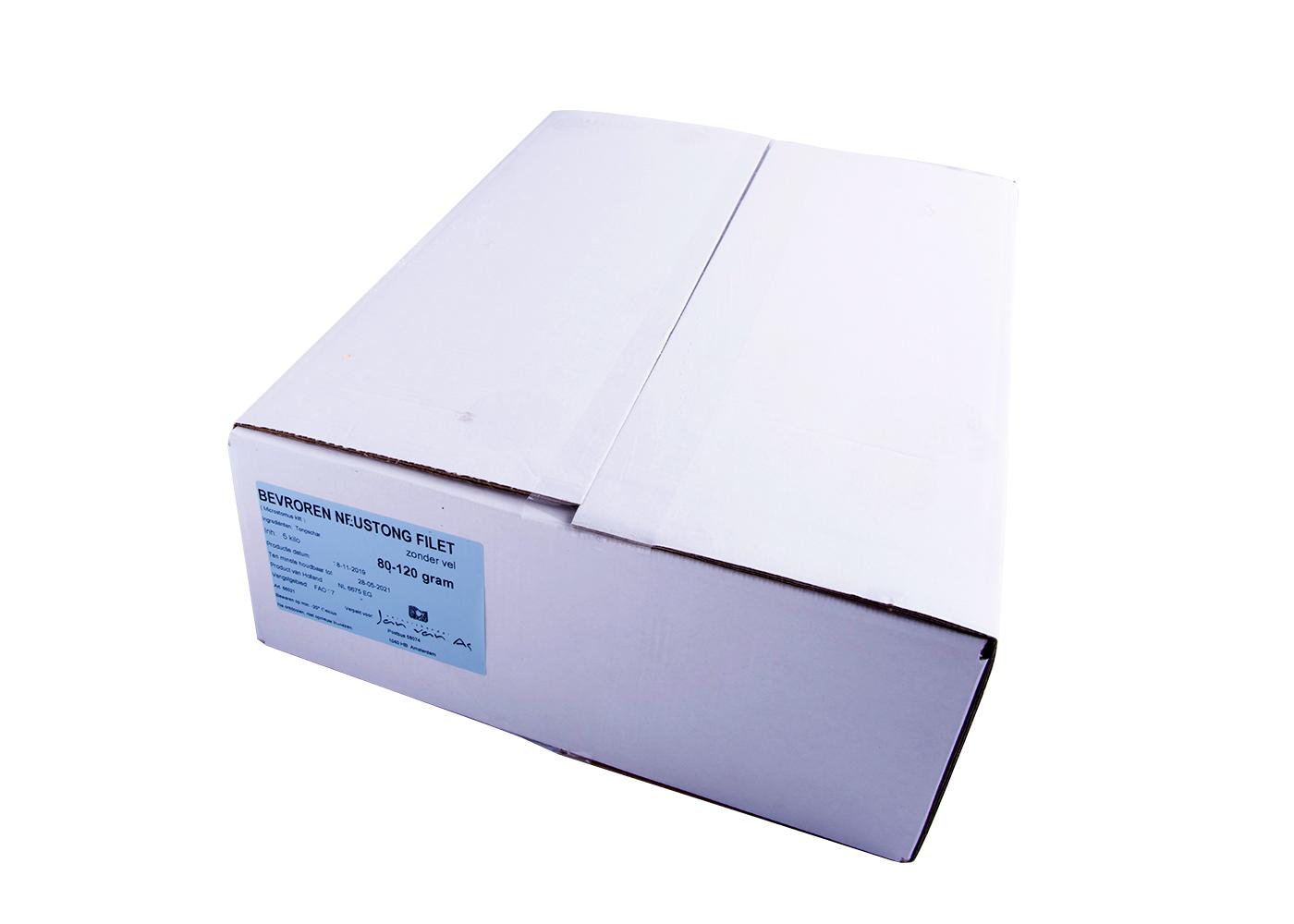 Productafbeelding NEUSTONG FILET BEVR. 80/120  DOOS 5 KG