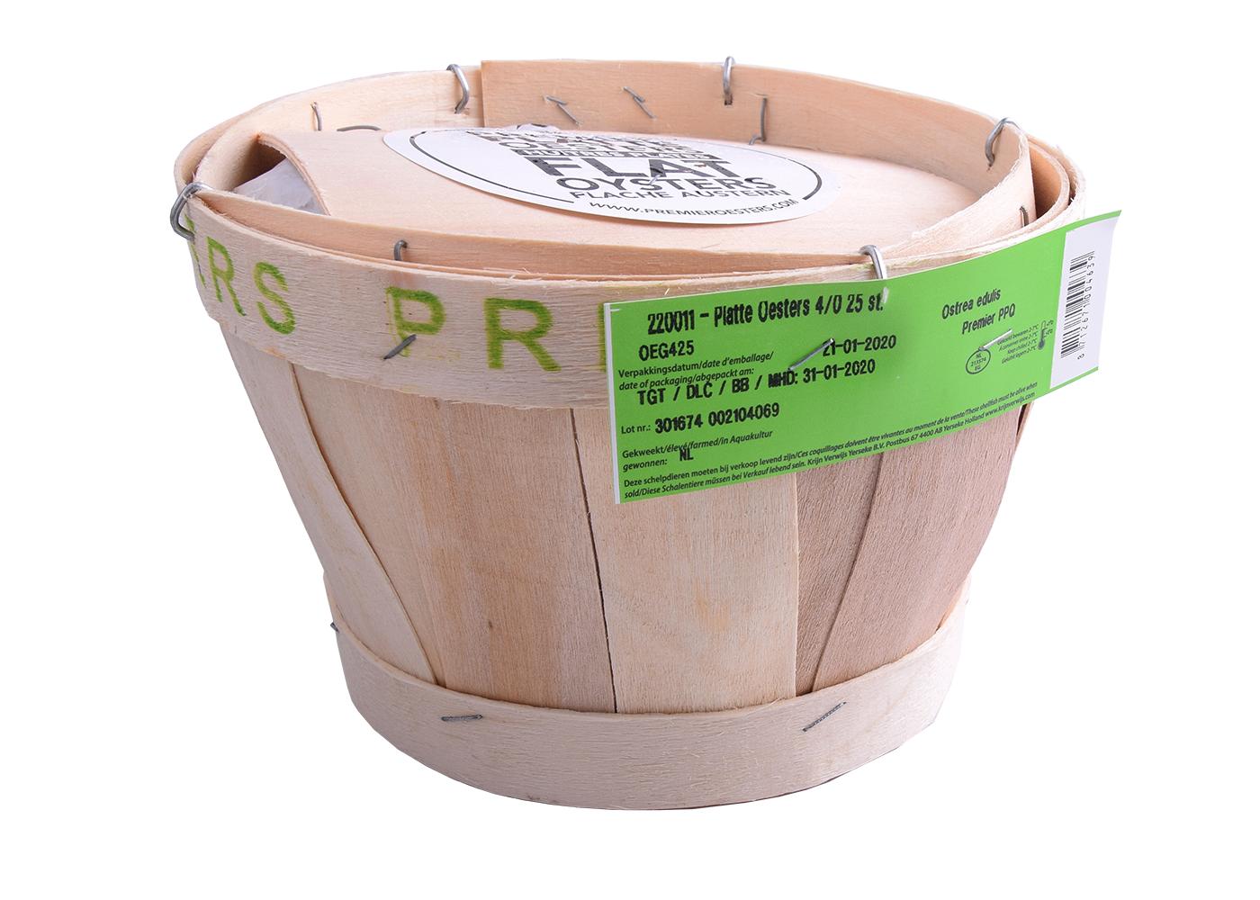 Productafbeelding PLATTE OESTERS 8/0 ZEEUWSE A 25 ST